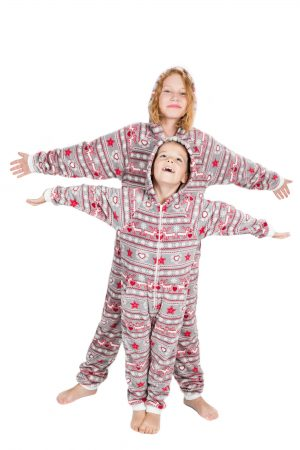 Christmas Dream Go-Jamz Kidz: Kids Fleece Jumpsuit