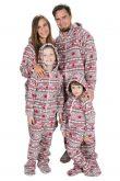 Christmas Dream Kajamaz Kidz: Footed Fleece Onesie