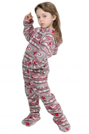 Christmas Dream Kajamaz Kidz: Footed Fleece Pajamas For Kids