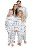 Christmas Go-Jamz Kidz: Non-Footed Fleece Jumpsuit