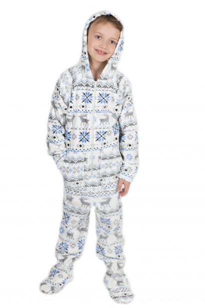 Christmas Kajamaz Kidz: Footed Fleece Pajamas For Kids