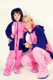 Cotton Candy Kajamaz:  Adult Footed Pajamas