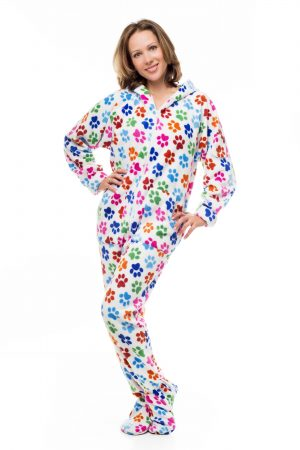 Dog Pawz Kajamaz: Footed Pajamas For Adults