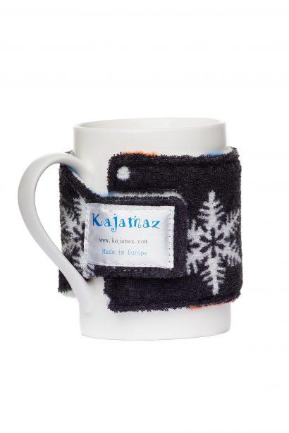 Dog Pawz Snowlfakes Mug Jamz - Fleece Mug Warmer