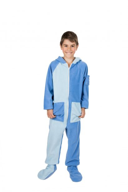 Kajamaz Kidz Moodz Dangaus mėlynė Pižama kombinezonas vaikams